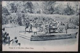 Haute Volta Passage De La Volta Noire Vieux Tacot Cpa - Burkina Faso