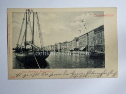 LUSSINPICCOLO Lussino Mali Lošinj Dalmazia Croazia Croatia AK Vecchia Cartolina - Croazia