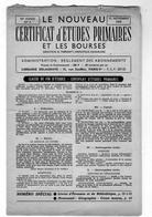 CERTIFICAT D'ETUDES PRIMAIRES EXAMEN Novembre 1959 (questions . Rèponses) - Diploma & School Reports