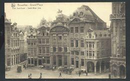 +++ CPA - BRUSSELS  BRUXELLES - Grand'Place - Côté Sud Ouest - Nels  // - Places, Squares