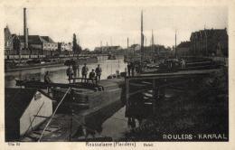 BELGIQUE - ROESELARE - ROUSSELAERE - ROULERS - Kanaal. - Röselare