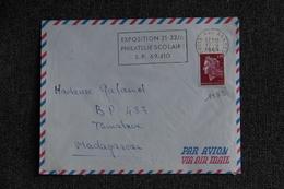 Lettre Poste Aux Armées Vers MADAGASCAR ( N°1583) - France