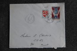 Lettre Poste Aux Armées Vers CERS( N°1468 Et 1576) - France