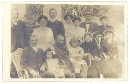 Cpa Carte Photo  Famille Nombreuse  ( CPH ) - Cartes Postales