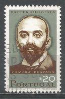 Portugal 1966. Scott #983 (U) Camara Pestana (1863-1899), Bacteriologist - Oblitérés