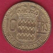 Monaco - Rainier III - 10 Francs - 1951 - Monaco