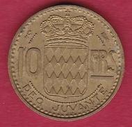 Monaco - Rainier III - 10 Francs - 1950 - 1949-1956 Old Francs