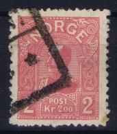Norway: Mi  69 Obl./Gestempelt/used   1907 - Gebraucht