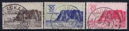 Norway: Mi  159 - 161 Obl./Gestempelt/used   1936 - Norwegen