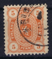 Finland : Mi Nr 13 BA Used 1875 Orange Perfo 12,50 - Used Stamps