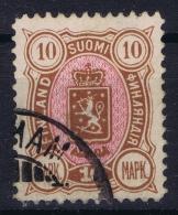 Finland : Mi Nr 34 Used 1889 - 1856-1917 Russische Verwaltung