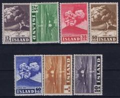 Iceand: Mi  247 - 253 Postfrisch/neuf Sans Charniere /MNH/**  1948 - Unused Stamps