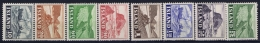 Iceand: Mi  263 - 270 Postfrisch/neuf Sans Charniere /MNH/**  1950 - 1944-... Republik