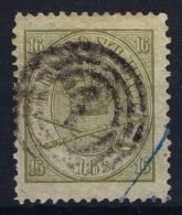 Denmark Mi  15  A Obl./Gestempelt/used  Perfo 13 : 12,50  1864 - 1864-04 (Christian IX)