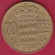 Monaco - Rainier III - 20 Francs - 1951 - 1949-1956 Old Francs