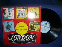 Nairobi Soul Makossa LP London Greatest Hits - Compilations