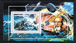 Guinea    -  1990. Sonda Spaziale Galileo.  Galileo Space Probe. MNH - Afrique