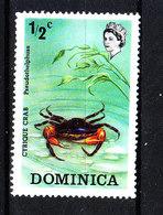 Dominica  - 1973. Granchio. Crab. MNH - Crustacés