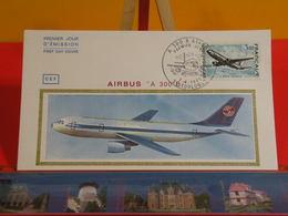 FDC > Avion Airbus A 300 B > (31) Toulouse > 7.4.1973 > 1er Jour Coté 12 € - FDC