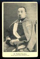 Dr. Vladimir Ravnihar, Svesokolski Slet Ljubljana 1922 / Postcard Not Circulated, 2 Scans - Yugoslavia