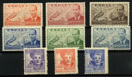 2053- España Nº 880/6 Y 954/6 - 1931-50 Unused Stamps