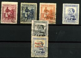 2057- Guinea Española Nº 227, 240, 209/11 Y 212 - Spanish Guinea