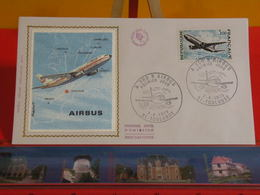 FDC > L'Avion AIRBUS A 300 B > (31) Toulouse > 7.4.1973 > 1er Jour Coté 12 € - FDC