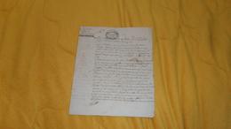 LETTRE  OU DOCUMENT ANCIEN MANUSCRIT DU 23 MESSIDOR AN 3 (1795). / RACHAT.. CACHET EXPEDITION 8 SOLS.. VILLIERS AUX PO?. - Manuscripts