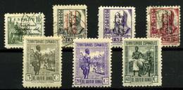2059- Guinea Española Nº 256/9 Y 264/6 - Guinée Espagnole