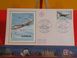 FDC > L'Avion AIRBUS A 300 B > (31) Toulouse > 7.4.1973 > 1er Jour Coté 12 € - 1970-1979