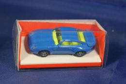 EUROMODELL Porsche 911 In Blau 1/87 OVP - Road Vehicles
