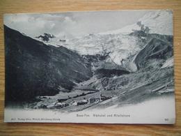 Saas-Fee  Alphubel Und Allalinhorn - VS Valais