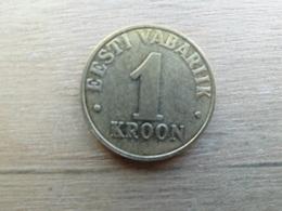Estonie  1  Kroon  2000  Km 35 - Estonie