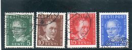 ESTONIE 1938 O - Estonia