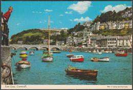 East Looe, Cornwall, C.1970s - John Hinde Postcard - England