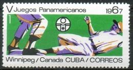 Cuba 1967 -  Baseball MNH ** - Cuba