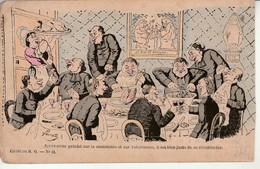 Carte Anticléricale Illustrée Par Lavrate. - Other Illustrators