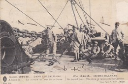 GUERRE 1914-1915...DANS LES BALKANS...  -   CPA 1917. - Guerra 1914-18