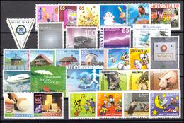1864-1905 Schweiz-Jahrgang 2004 Komplett, Postfrisch - Zwitserland
