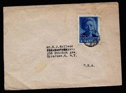 A5144) Polen Poland Brief 1947 Nach USA - 1944-.... Republik