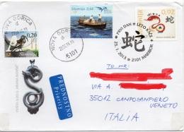 SLOVENIA 2016 - ANNO DEL SERPENTE - MARIBOR - NOVA GORICA - FRINGUELLO ALPINO - TONNARA - Slovenia
