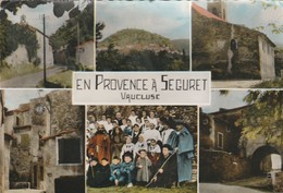 CPSM 84 SEGURET EN PROVENCE  MULTIVUES  PASTORALE - France