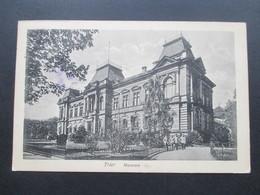 AK 1916 Trier Museum. Zensurstempel Trier 1 P.K. Geprüft Und Zu Befördern. - Musei