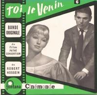 45 TOURS GOSSELAIN BOF TOI LE VENIN FONTANA 460586 BLUES A LA NUIT / JE SUIS UN DEMON / TOI LE VENIN + 2 - Soundtracks, Film Music