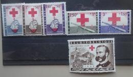 BELGIE 1959   Van  Nr. 1096 - 1101    Postfris **     CW  27,50 - Unused Stamps