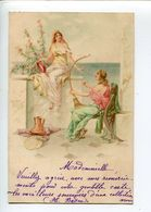 Musique Art Nouveau  Illustrateur - Künstlerkarten