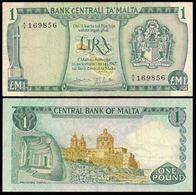 Malta 1 Pound 1967 Sn856 VF - Malta