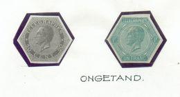 TG N°1 Et 2 NON DENTELE - 12615 - Telegraphenmarken