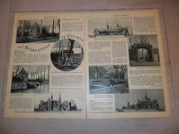 """Origineel Knipsel ( 1197 )  Uit Tijdschrift """" De Stad """" : Sterckxhof   Deurne   2 Blz.  1931 - Sin Clasificación"""