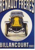 Renault Freres Billancourt , Automobile, Renault A 90ans - Werbepostkarten